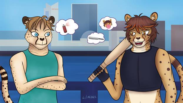 Best Trans Punk Cheetah 2K21