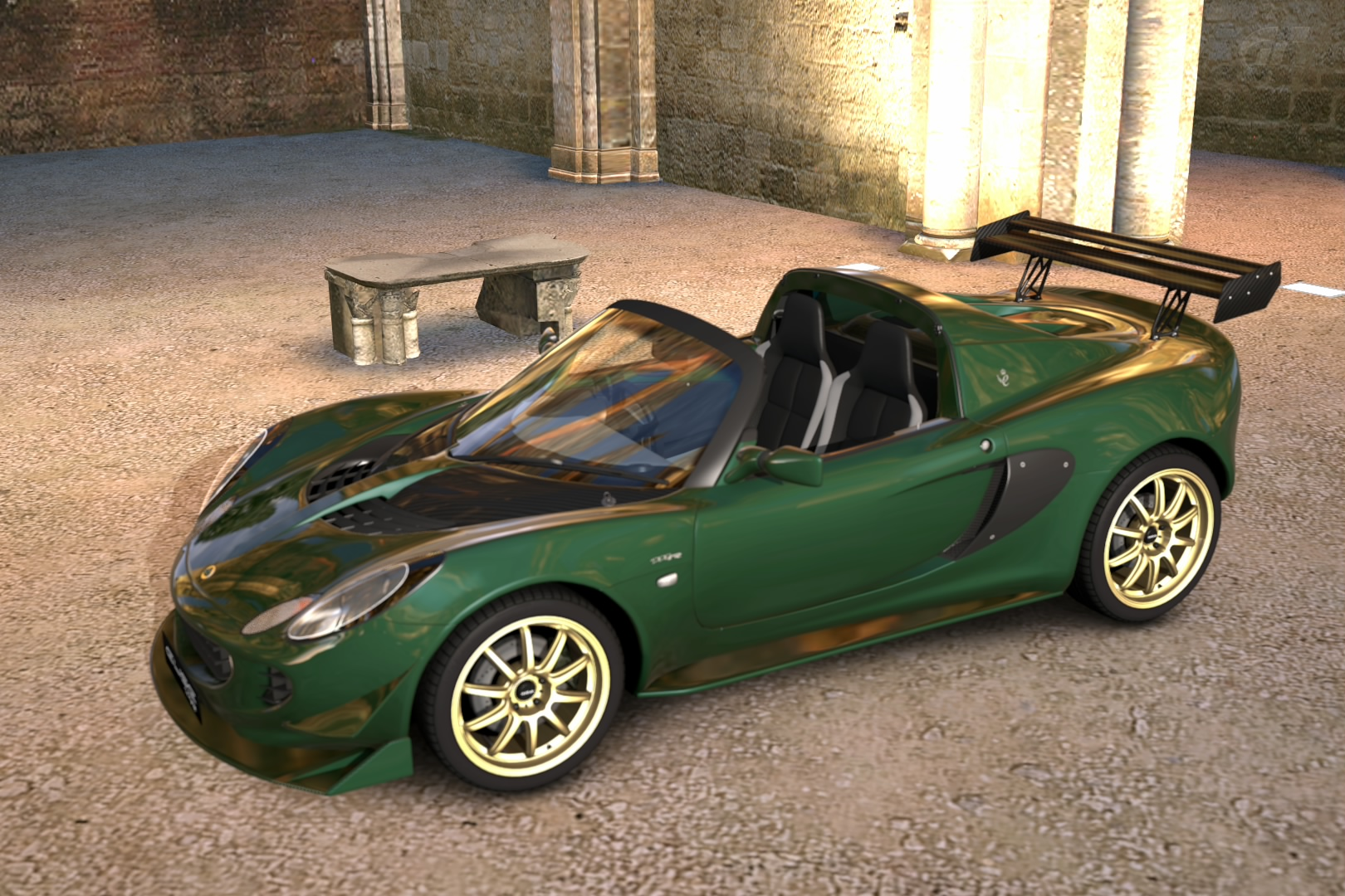 lotus elise 111r by omegadeath01 on deviantart. Black Bedroom Furniture Sets. Home Design Ideas