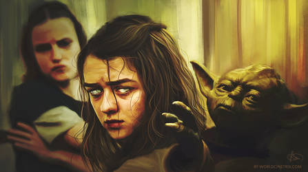 Arya Stark // Use the force you must by cinetrix