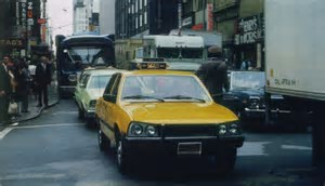 Peugeot 505 new york taxi by PeugeotUSA