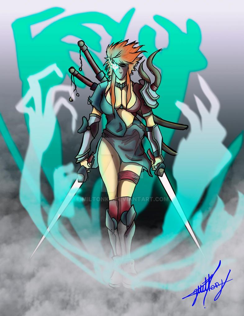 madre guerra ..! by Miltonkj