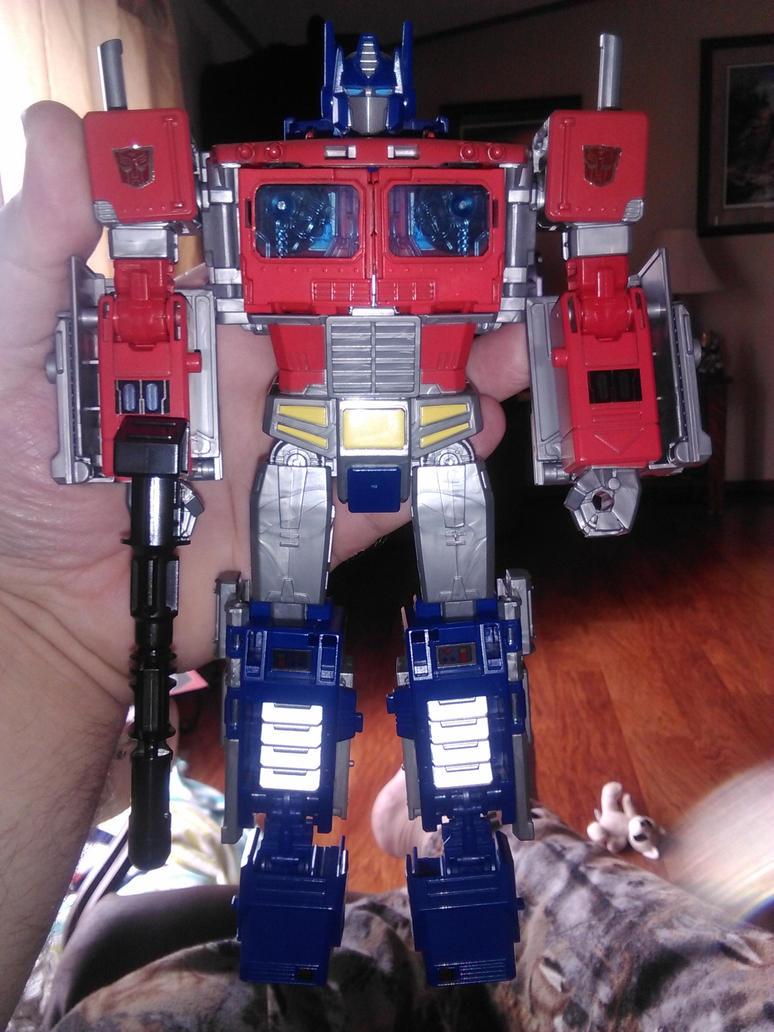 Transformers POTP Optimus Prime by Daniel-Eggman