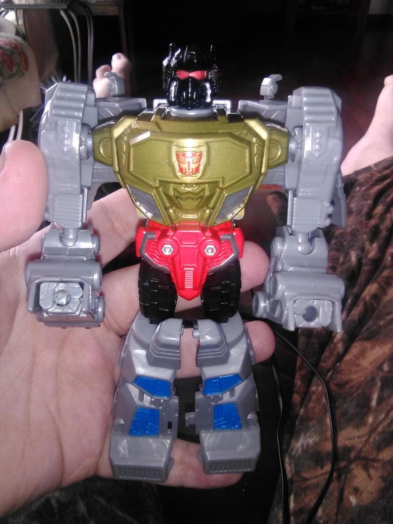 Transformers Authentics Grimlock by Daniel-Eggman