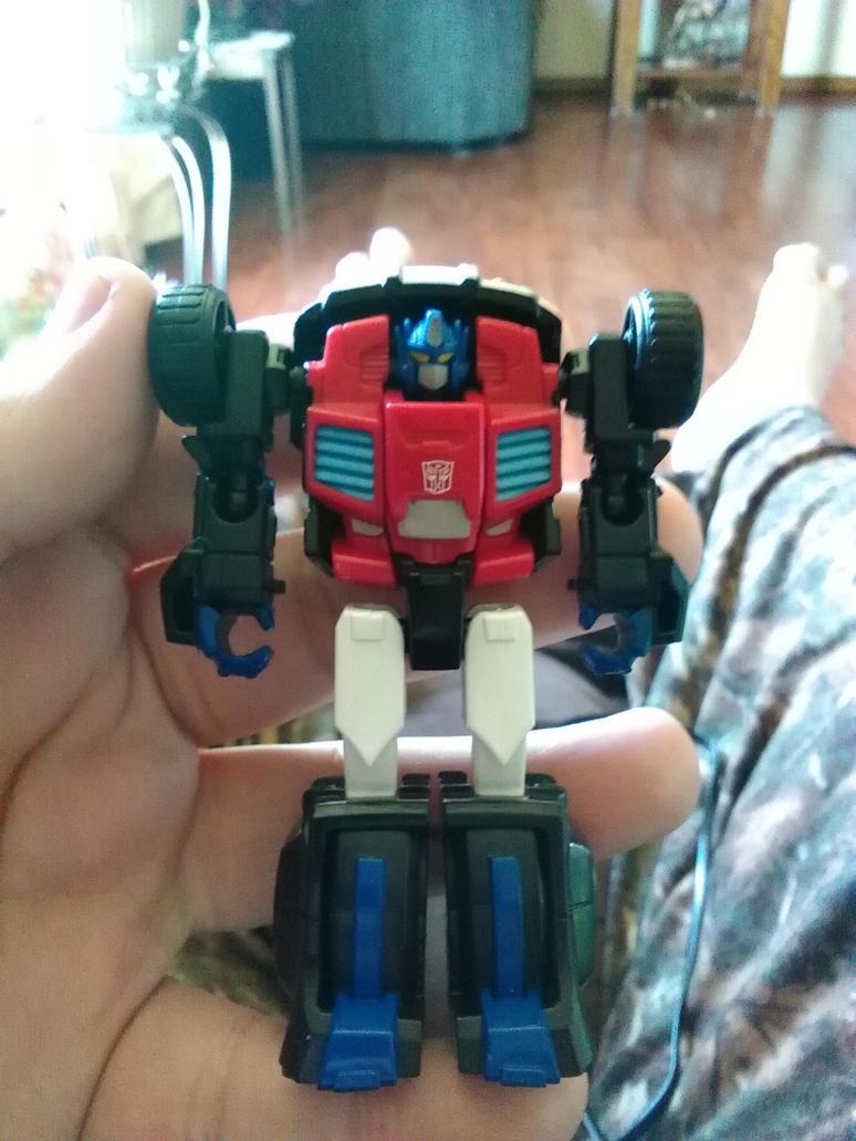 TFSS exclusive Optimus Prime by Daniel-Eggman