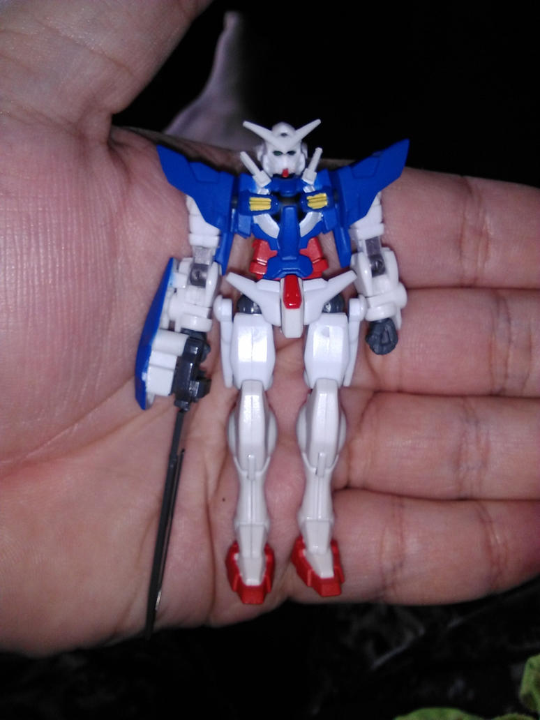 Gundam Exia from Gundam Assault Kingdom by Daniel-Eggman