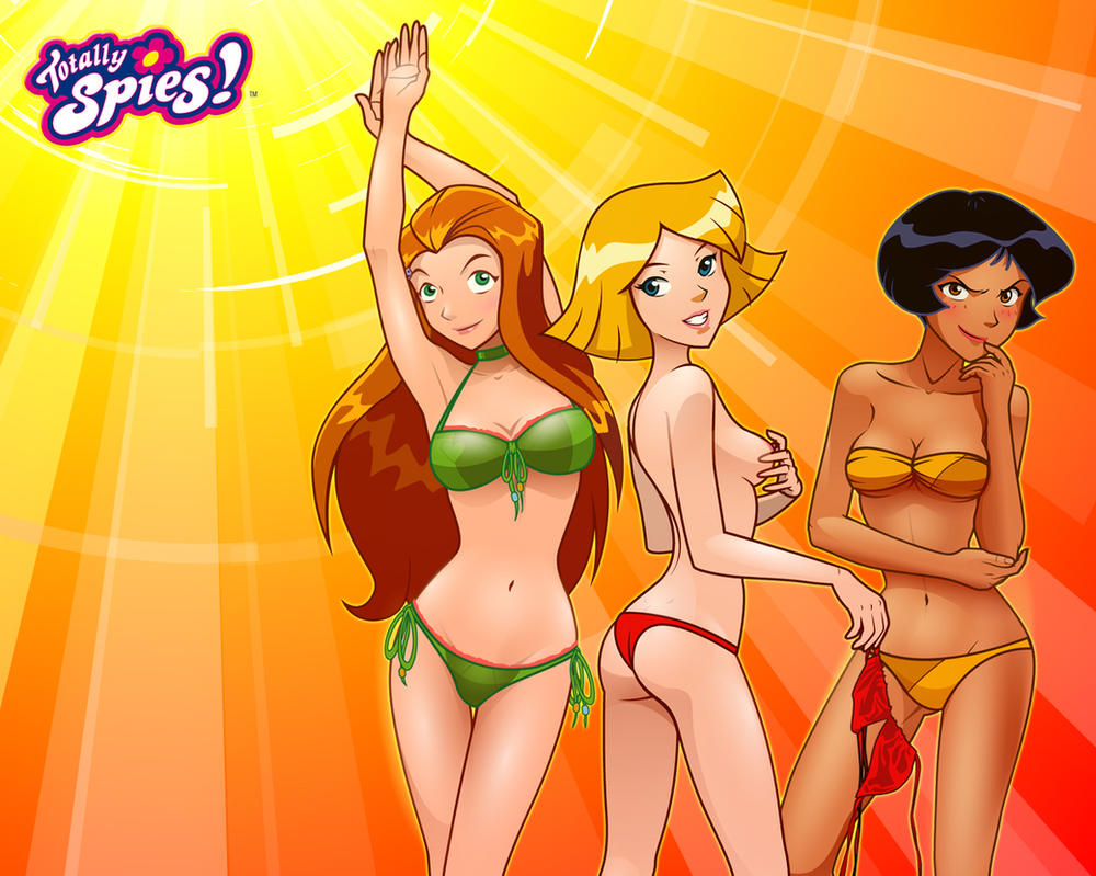 Brit Anime totally spies nude süsse