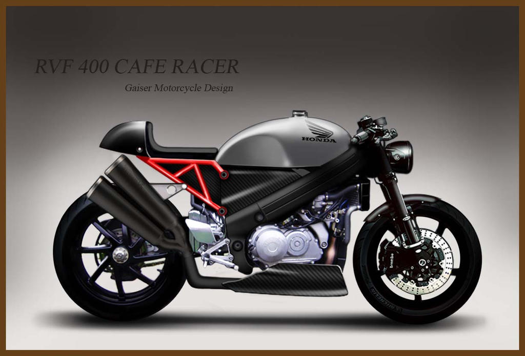 rvf 400 cafe racergaiser-motorcycles on deviantart