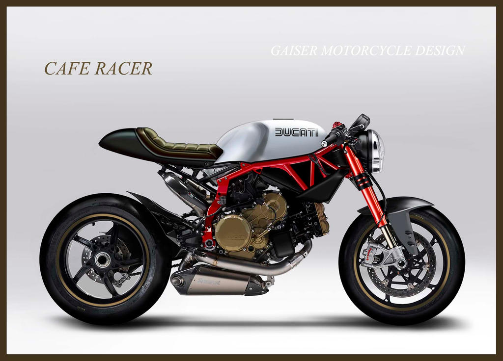 ducati cafe racergaiser-motorcycles on deviantart