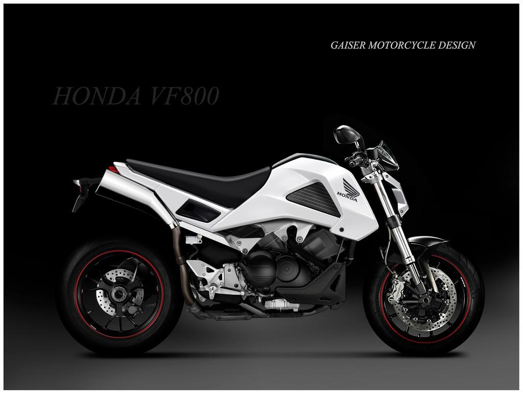 Hondas naked VF800 designs   MCN