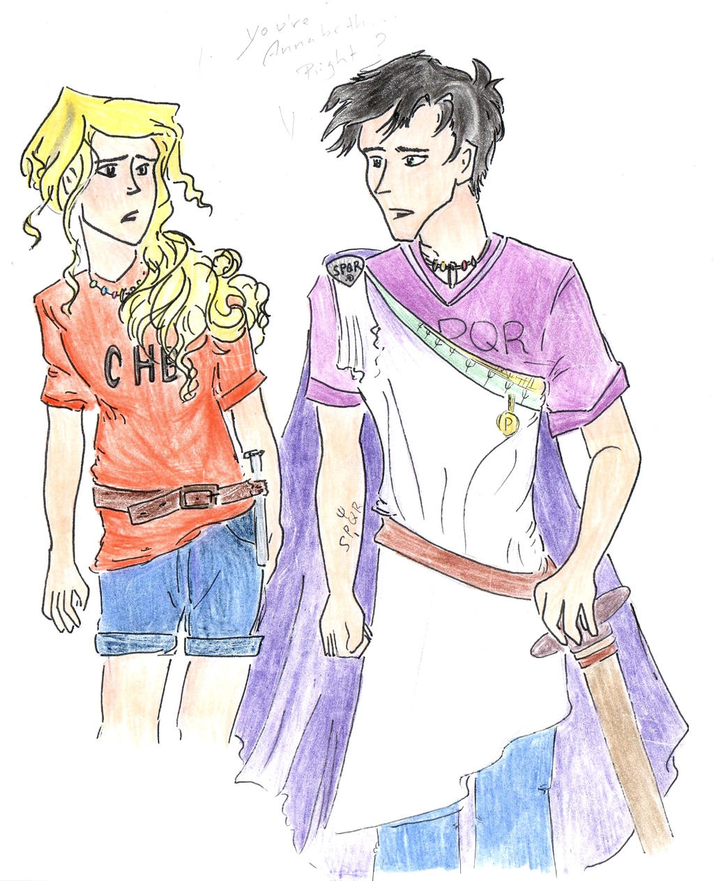 When Percy meets Annabeth... by Nobody426 on DeviantArt