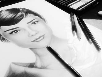 WIP Audrey by djn00