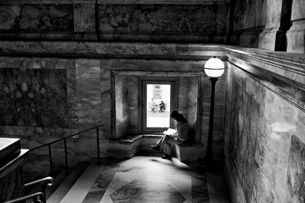 Woman Reading by ZiaulKareem