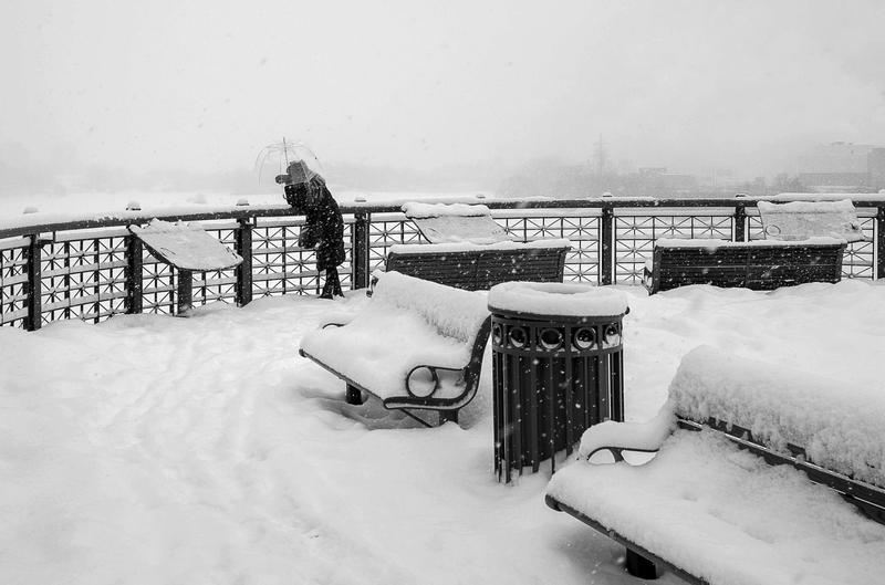 When Snow Falls by ZiaulKareem