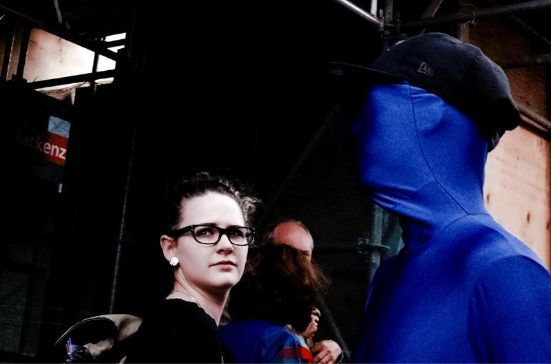 The Blue Man by ZiaulKareem