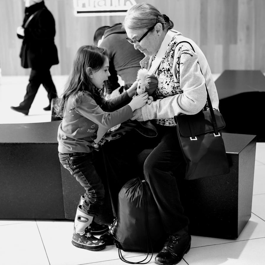 Be Careful Grandma! by ZiaulKareem