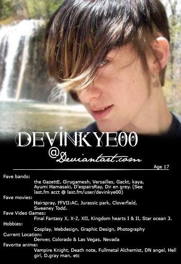 Devinkye00's Profile Picture