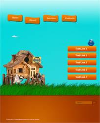 Web Template by azaxcg