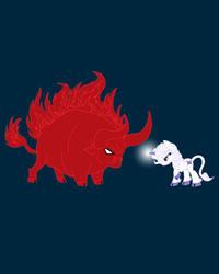 My Little Epic Battle Design by AriesNamarie
