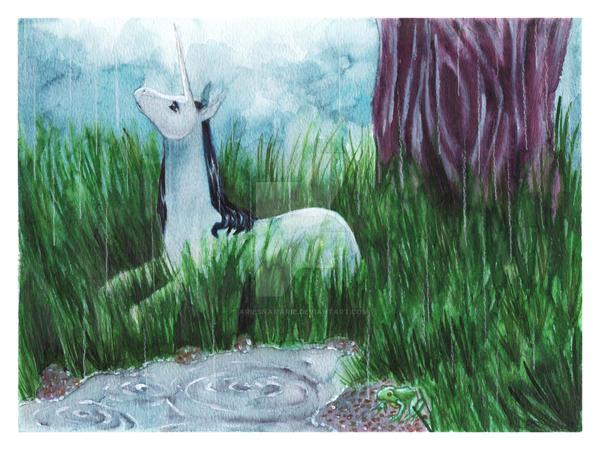 Rainy Days by AriesNamarie