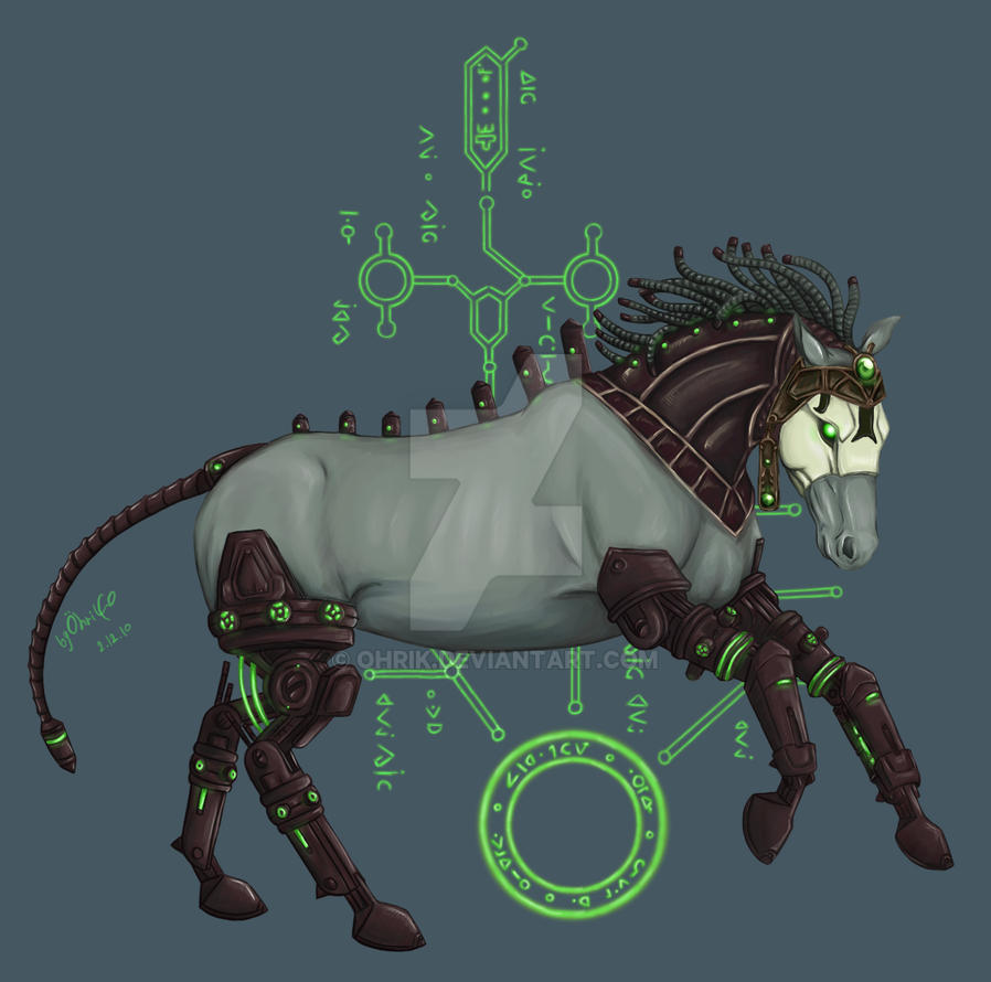 Allods Online - Arisen Horse by OhriK