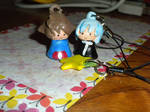 Kingdom Hearts Phone Charm Prizes by TouchMySitar