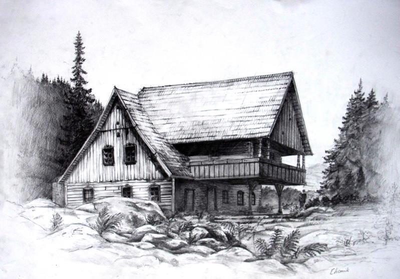 Nice Wooden House By Lizard E A ...
