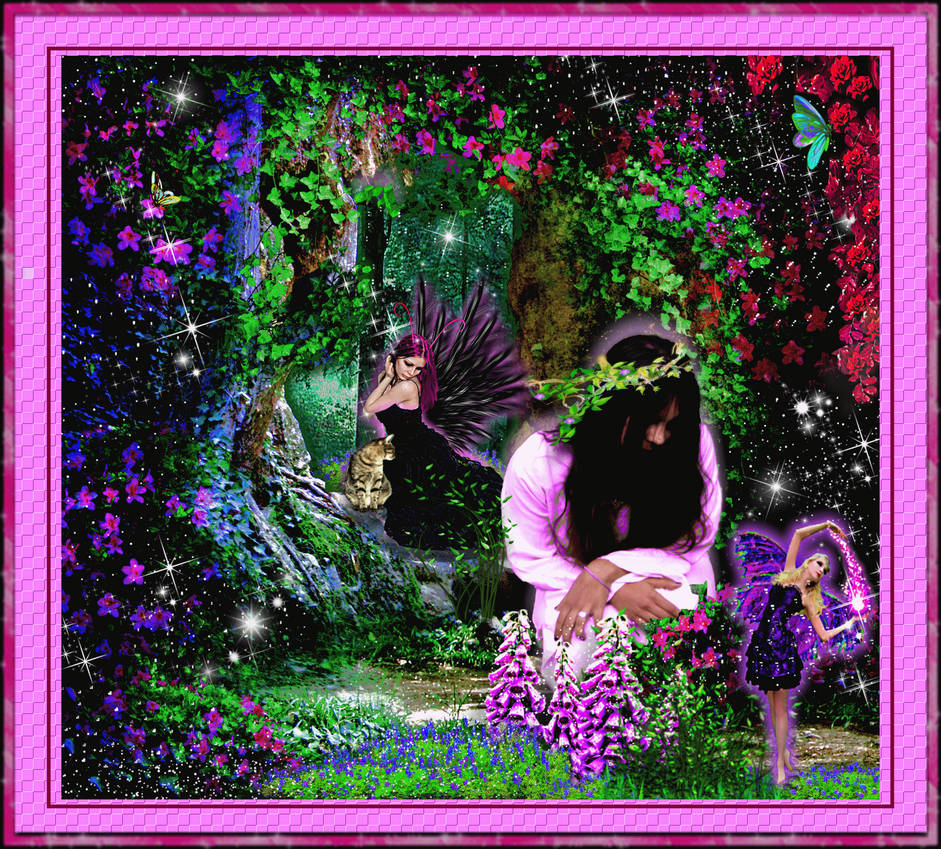 Fairy in the Garden! by icu109
