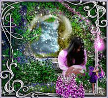 Fairy in the Garden 2