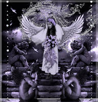 angel bride by icu109