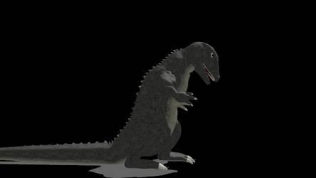 MMD Gorosaurus by mt dl in description by spacepatrolgaia