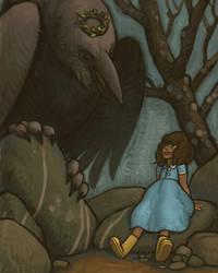 Anna Listens to Raven by atomicman