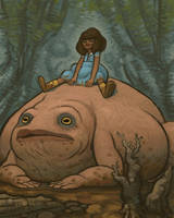 Anna and Frog by atomicman