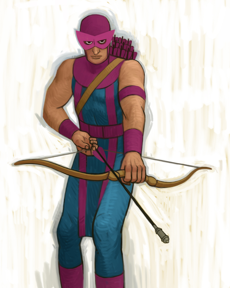 Hawkeye by atomicman