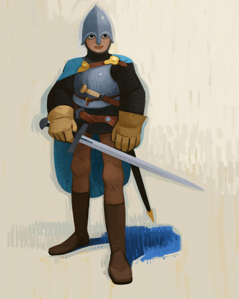 Knight by atomicman