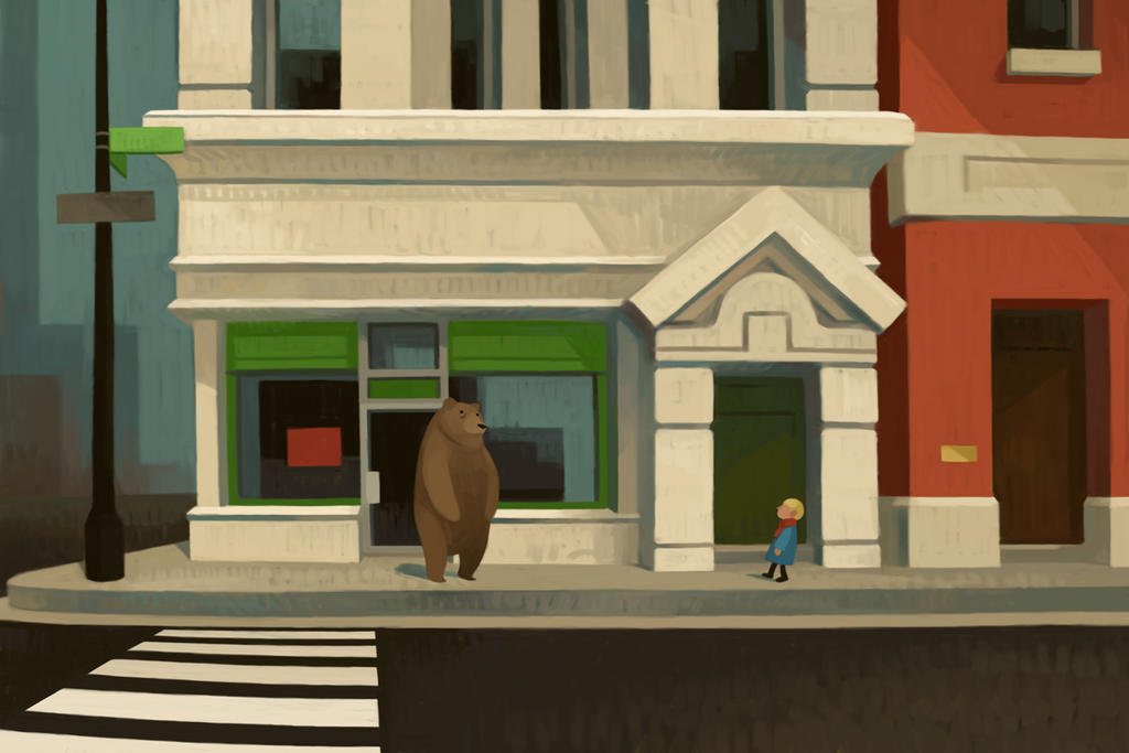 Bear Street by atomicman
