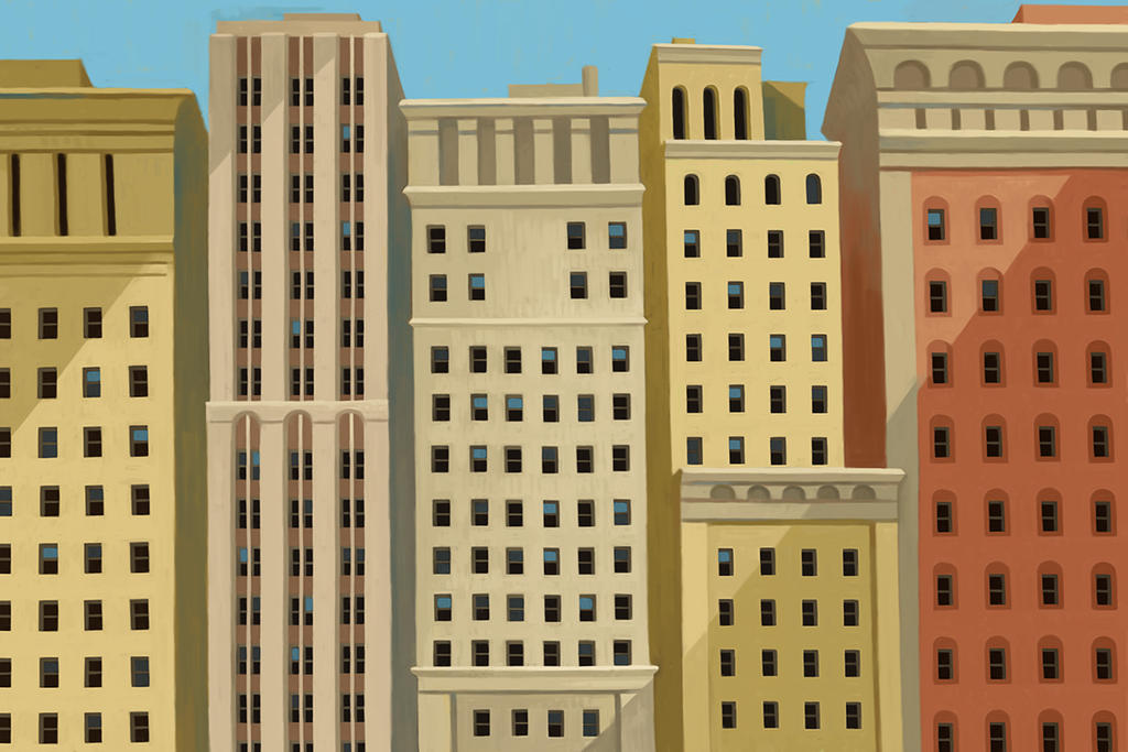 buildings by atomicman
