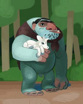 Troll and Friend
