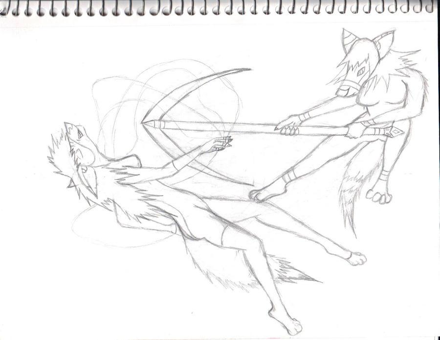 In Progress Sketch by Soursuger