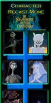 The Nightmare Before Christmas Recast meme