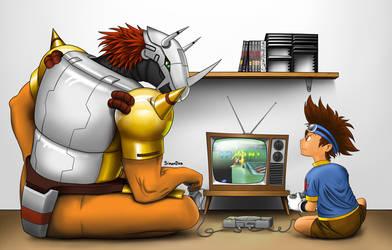 Digimon Battle! by SinanDira