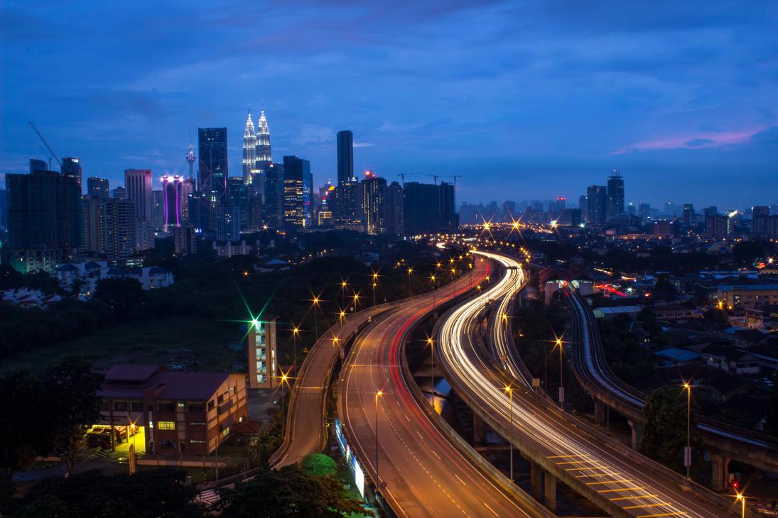 Ampang Highway by SinanDira
