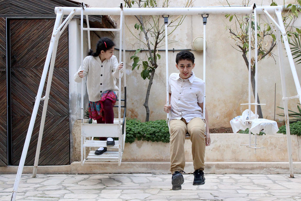 White Swingset by SinanDira