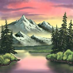Quiet Cove (Bob Ross Imitation)