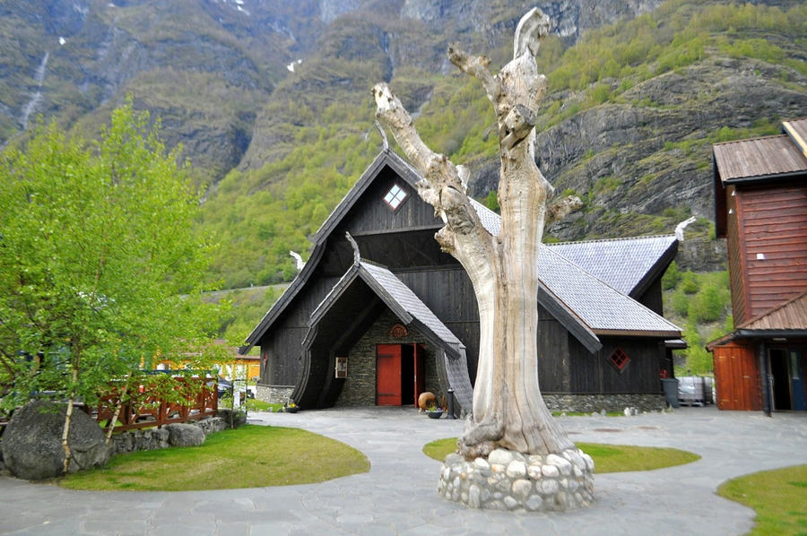 Viking Mead Hall At Flam By Masimage On Deviantart