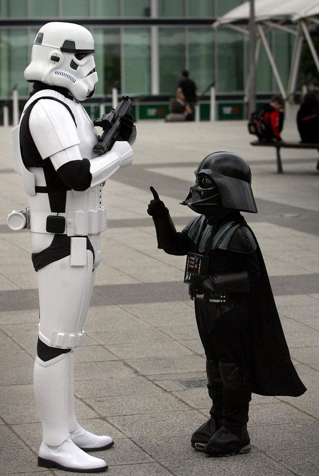 Darth Vader jr. by masimage