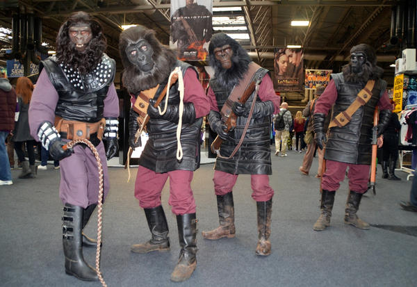 Planet of the Apes Cosplay ( Gorilla soldiers ) by masimage