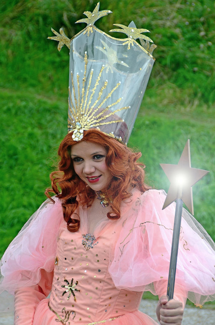 glinda the good witch of the north at tutbury by masimage on deviantart