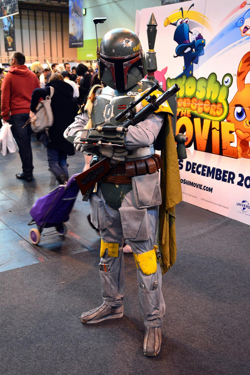 Boba Fett Cosplay by masimage
