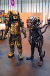 Predator and Alien Cosplay