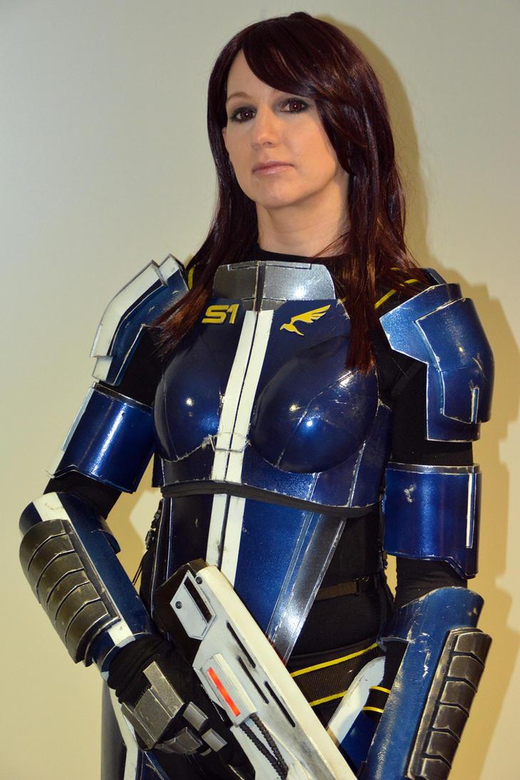 Mass Effect 3 Ashley Williams Cosplay - 9GAG